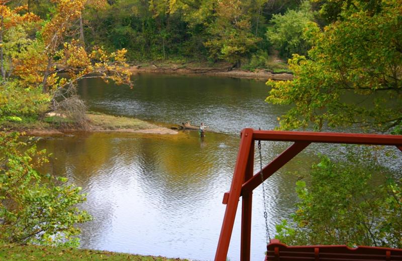 View from River Ridge Inn.