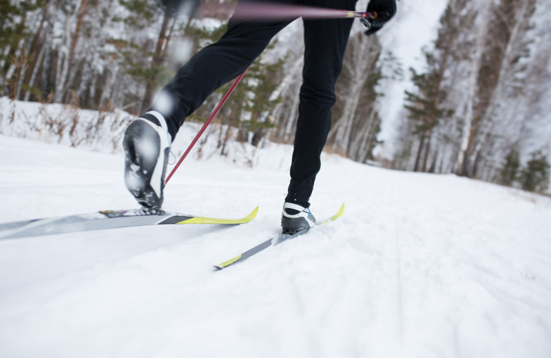 Skiing at Northwoods Vacation Rentals.