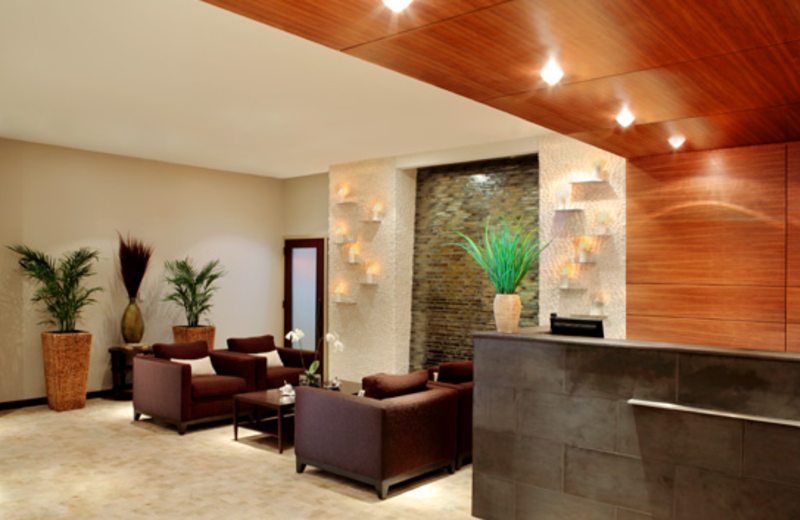 Interior Spa at  The Westin Hilton