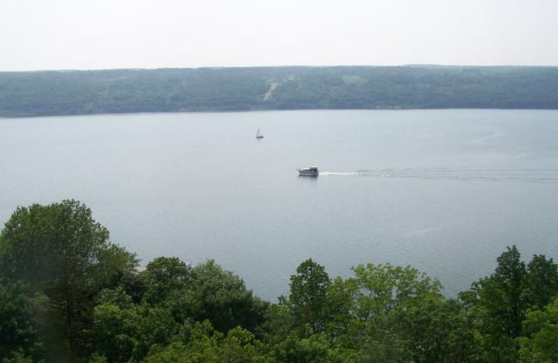 Central Lake at Finger Lakes Waterfall Resort