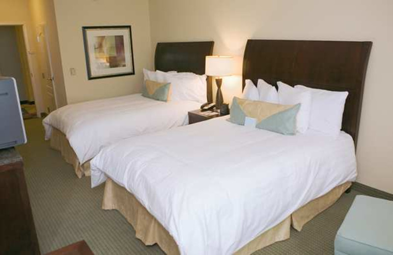 Guest Room at the Hilton Garden Inn Beaumont