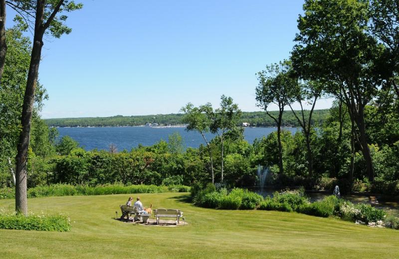 Lake view at Country House Resort.