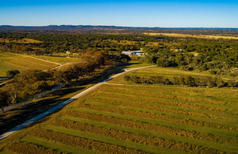 Aerial view of Joshua Creek Ranch.