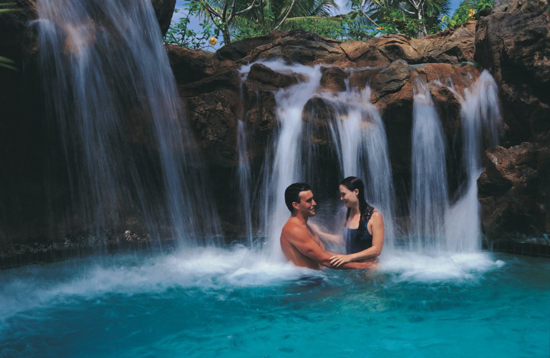 Couple at Outrigger Guam Resort.