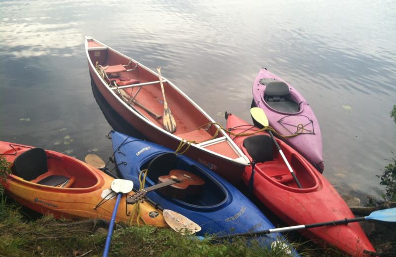 Kayaking near Wilburton Inn.