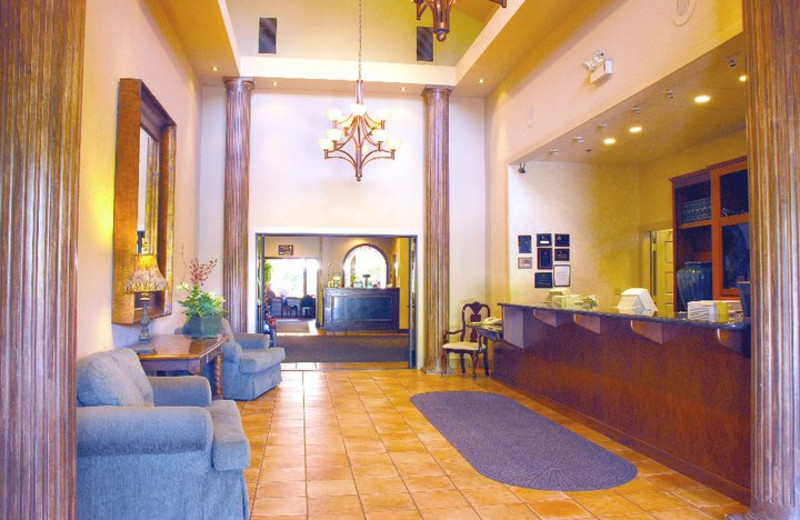 Lobby area at Best Western Plus Seacliff Inn.