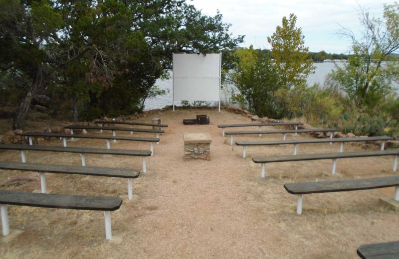 Amphitheater at Inks Lake State Park.