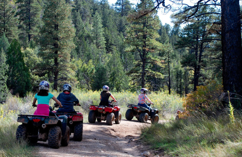 ATV at Zion Ponderosa Ranch Resort.