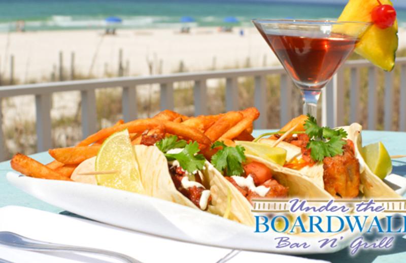 Delicious Cuisine at Boardwalk Beach Resort Hotel & Convention Center