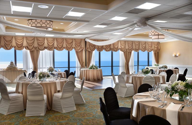 Wedding reception at The Breakers Resort.