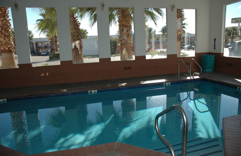 Indoor pool at St. George Inn & Suites.