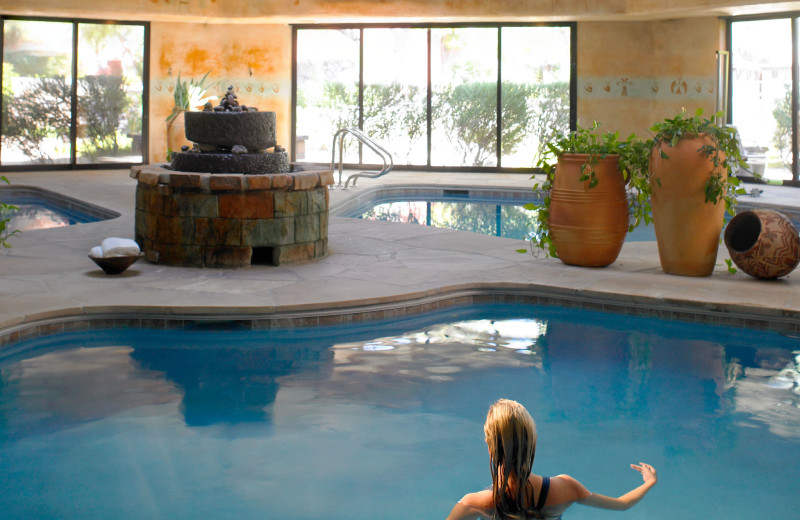 Indoor pool at Canyon Ranch Tucson.