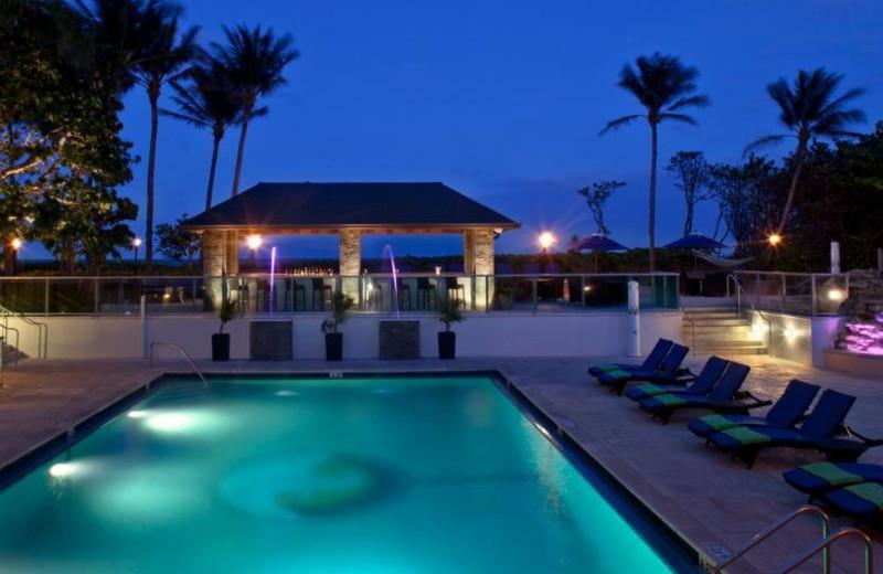 Outdoor pool at Jupiter Beach Resort.