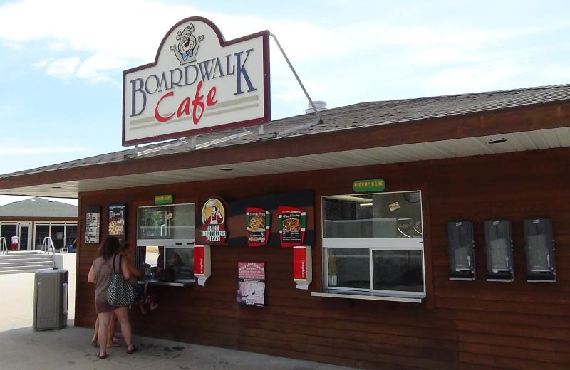 Cafe at Yogi Bear's Jellystone Park Warrens.