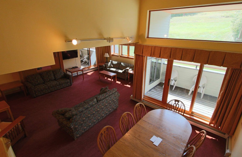 Interior view of The Mountain Club on Loon.