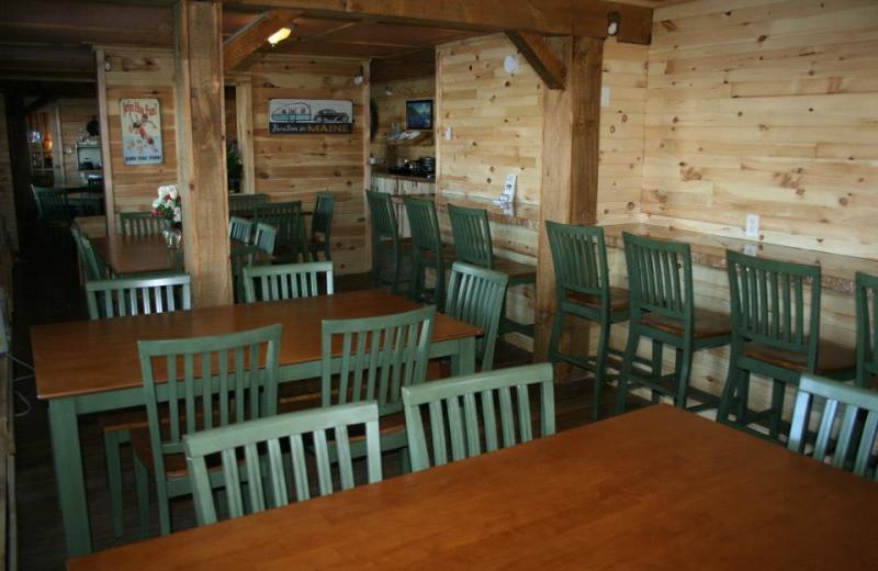 Dining at Vacationland Inn.