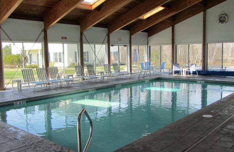 indoor pool at Ocean Walk Hotel.