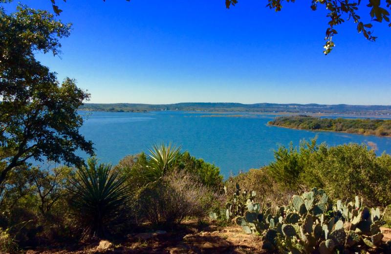 Lake view at Canyon of the Eagles.