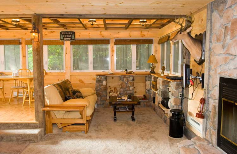 Family Room at Cabins-4-Rent