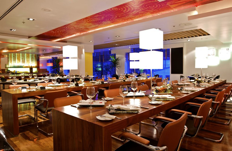 Dining at Hotel Istana.