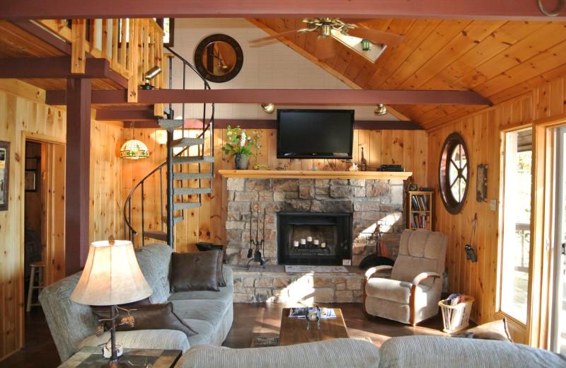 Rental living room at Redman Rental Group.