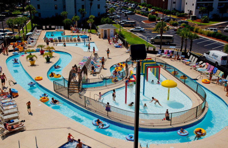 Pool at Myrtle Beach Resort Vacations.