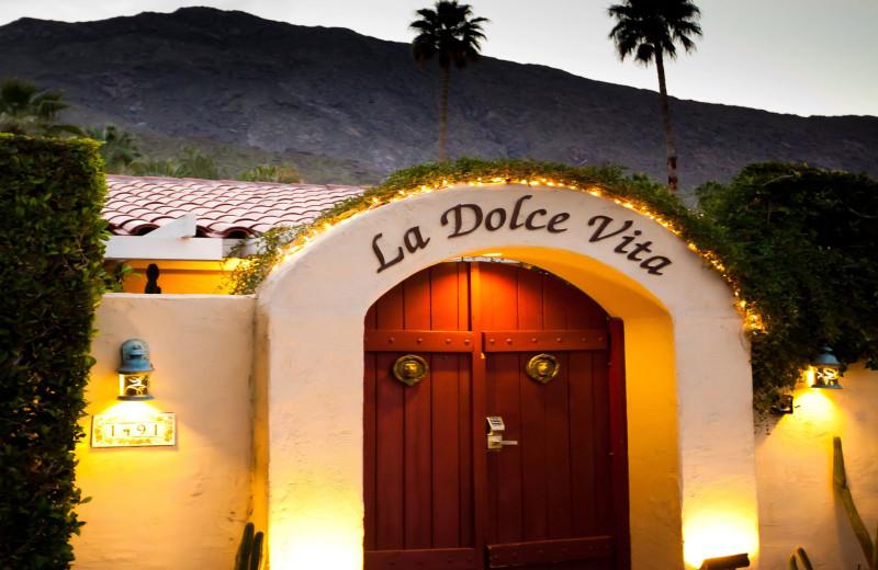 Exterior view of LA Dolce Vita Resort.