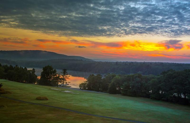 View at Skytop Lodge.