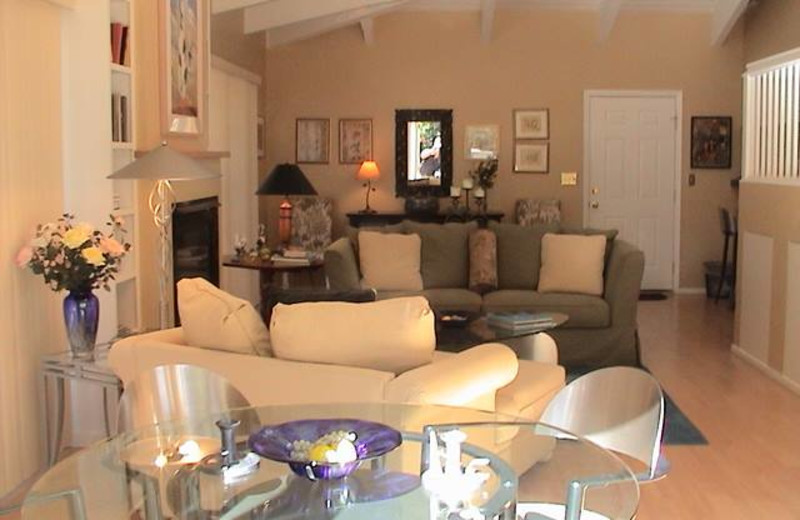 Interior view of Meadowlark Country House.