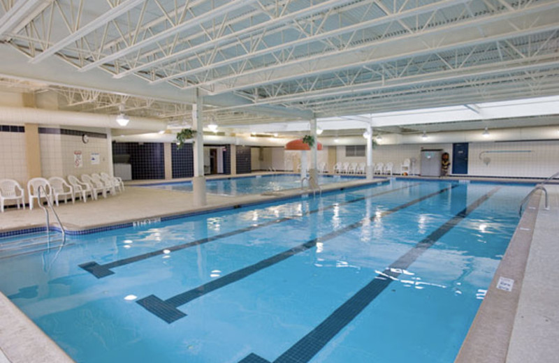 Indoor pool at Wyndham Vacation Resorts Shawnee Village.