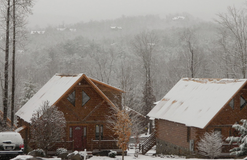 Winter at White Oak Lodge & Resort.