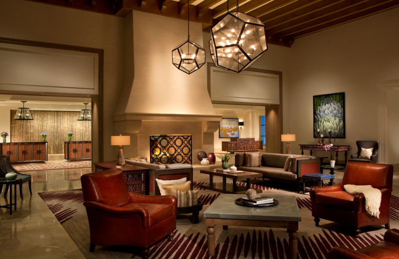 Lobby at La Cantera Resort & Spa.
