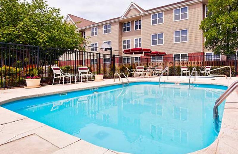 Outdoor pool at Residence Inn Austin Northwest.