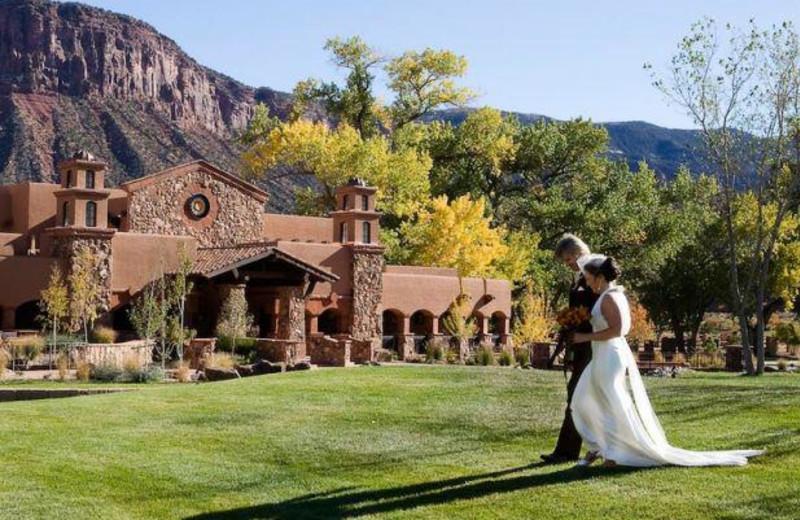 Wedding at Gateway Canyons Resort