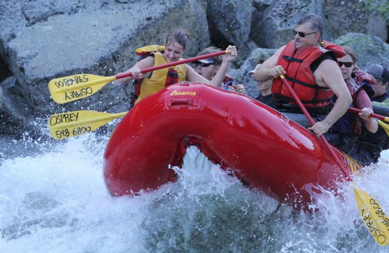 Rafting near Obertal Inn & Vacation Rentals.