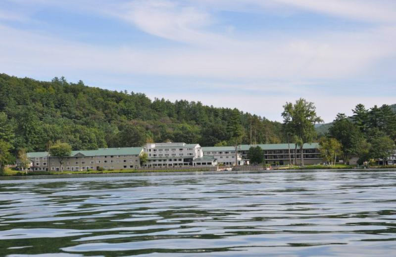 Exterior view of Lake Morey Resort.