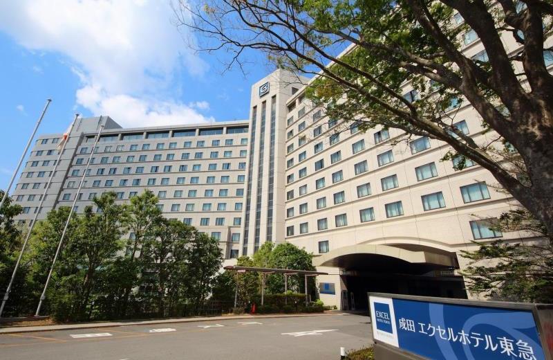 Exterior view of Hotel Narita Tokyu.