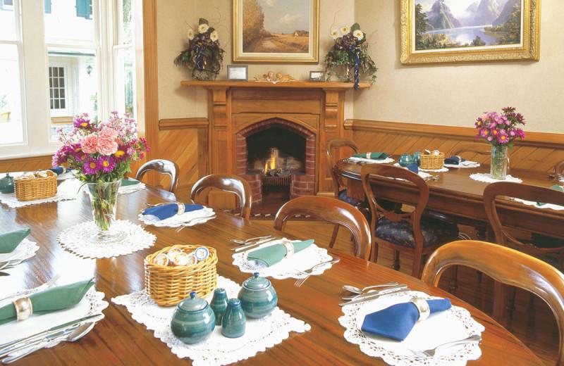 Dining at Charlotte Jane.