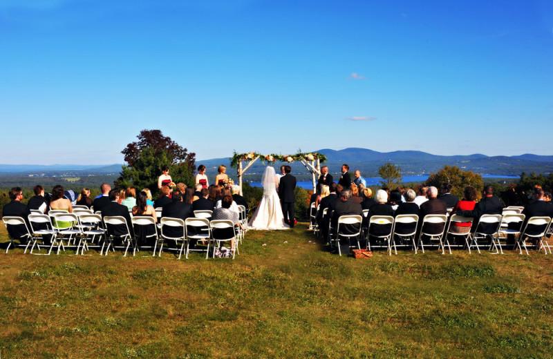 Wedding at Steele Hill Resorts.