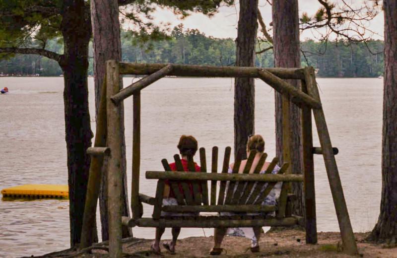 Lake view at Idle Hours Resort.