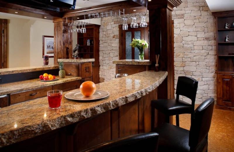 Bar area at White Buffalo Club.