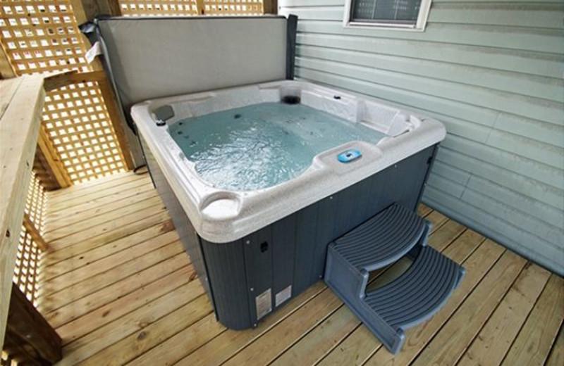 Hot Tub at Carolina Shores Vacation Rentals