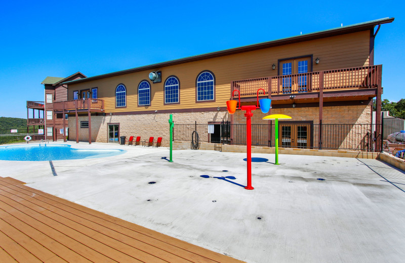 Outdoor pool at Clear Lake Investment, LLC.