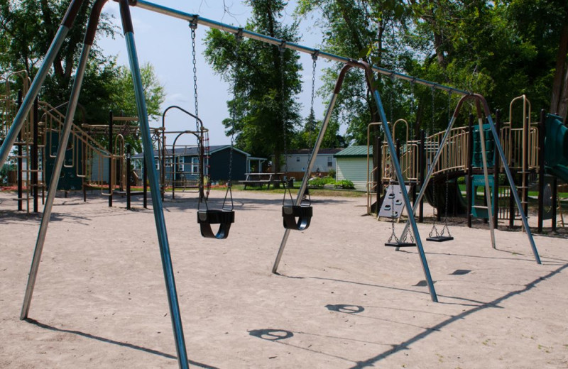 Playground at Great Blue Resorts- Woodland Estate Resort.