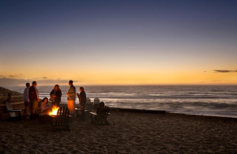 Bonfire at The Sanctuary Beach Resort