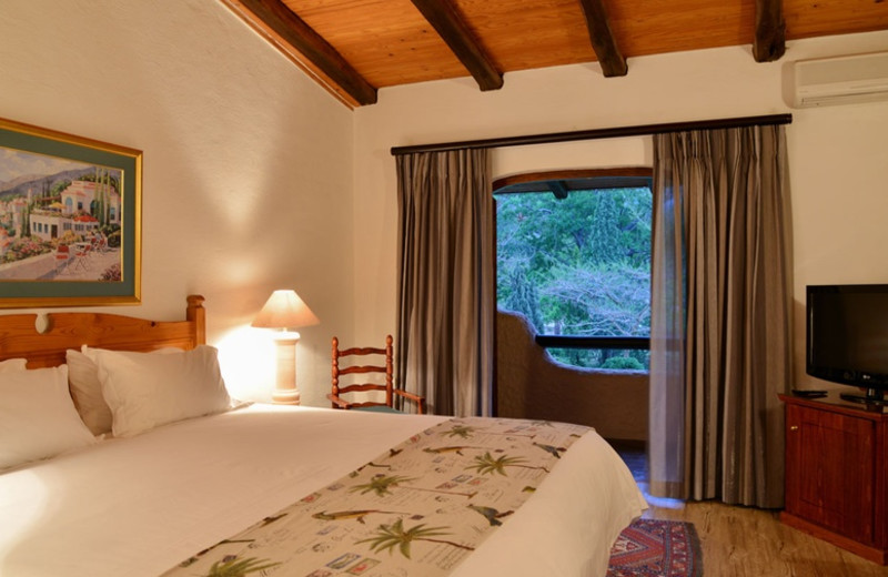 Guest room at Malaga Conference and Holiday Resort.