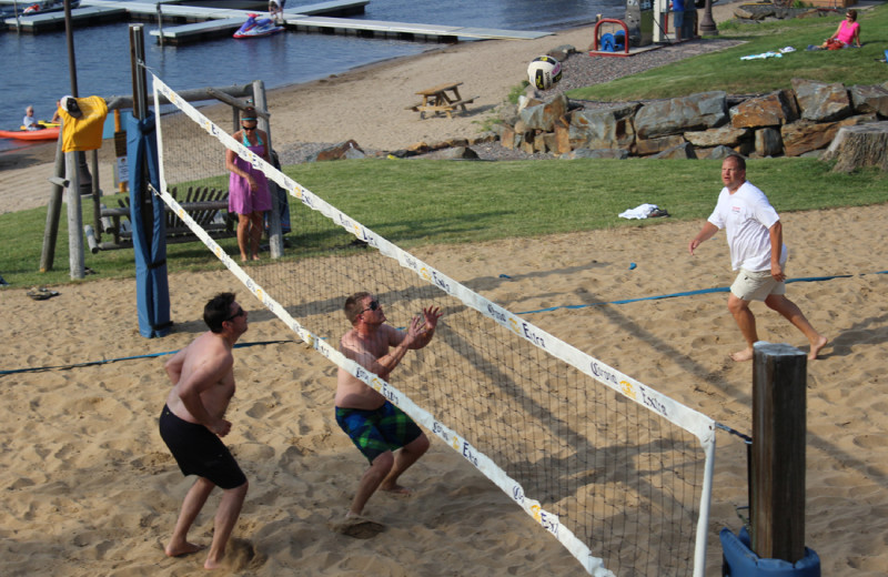 Volleyball at Big Sandy Lodge & Resort.