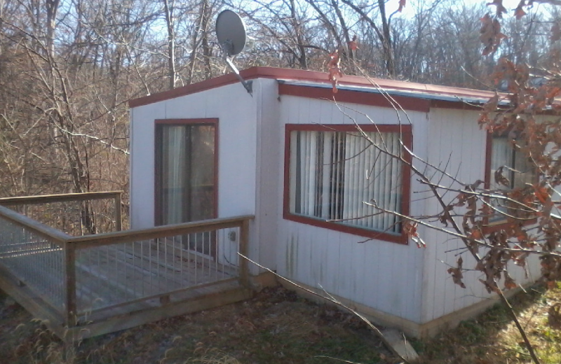 Cabin exterior at Runaway II Resort.