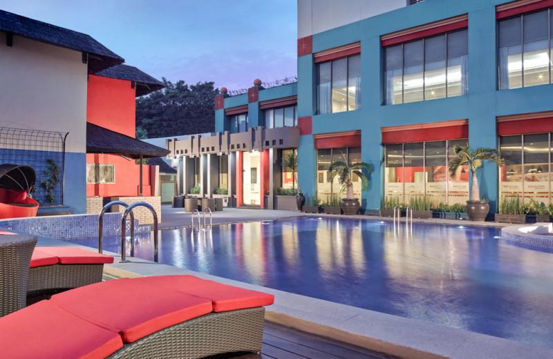 Outdoor pool at Ibis Kemayoran.