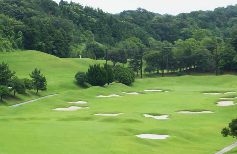 Golf course at Kazusa Monarch Country Club.